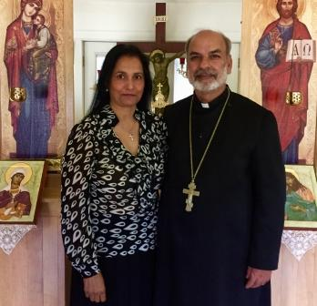Father Peter and Matushka Mary